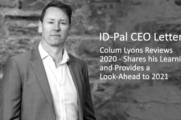 ID-PAL CEO Letter 2020